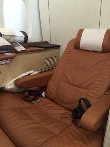 Chair at full recline