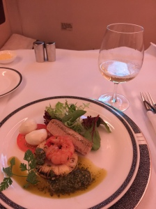 First course - antipesto platter. Loved the foie gras!
