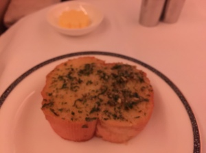 The highly recommended SQ garlic bread