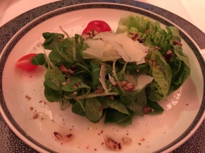 Third course - salad, nothing special