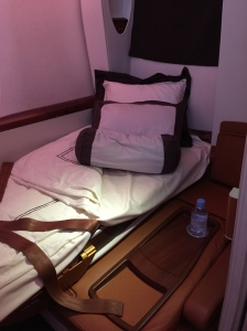 Suite 2F, converted into bed