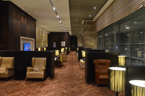 The main lounge area
