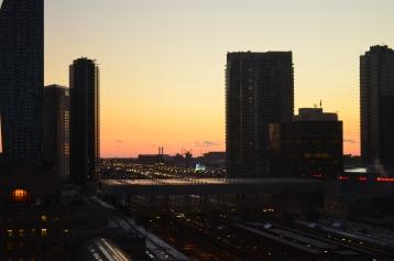 Sunrise at Toronto