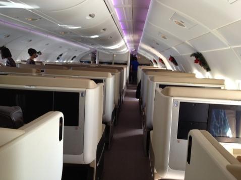 1-2-1 Seat arrangement