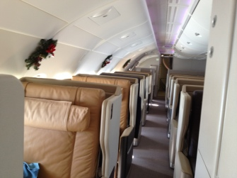 All Business Class upper deck
