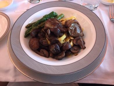Very generous servings of mushrooms!