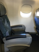 Side view of the seat