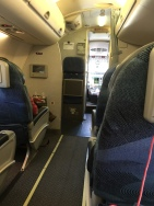Small J cabin of only 9 seats