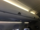 Spacious overhead bin for a small aircraft