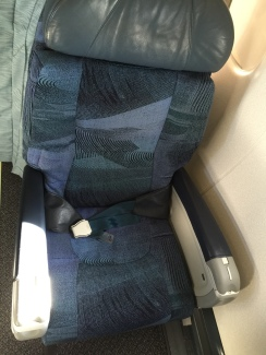 Seat is quite comfortable for a short haul flight