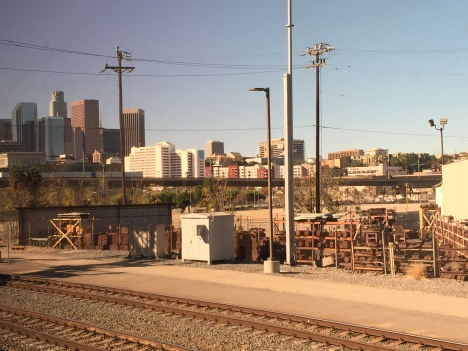 1 - View of Downtown LA leaving Union Station