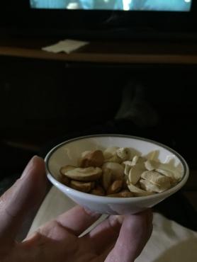 Warmed nuts