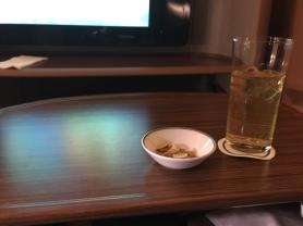 Warmed nuts & Apple Bliss