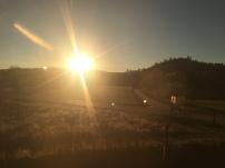 16 - Sun slowly setting
