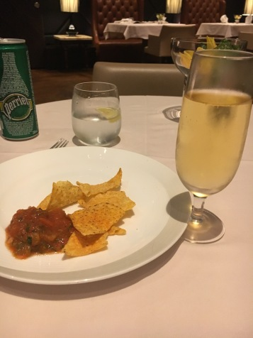 Charles Heidsieck with chips
