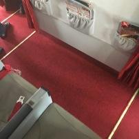 Bulkhead seat