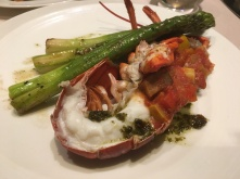 Poached Lobster Provencale