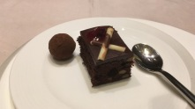Dessert from the buffet station