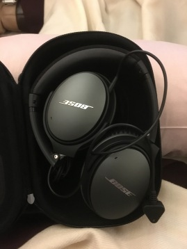The new Bose headset is likely the QC25 model
