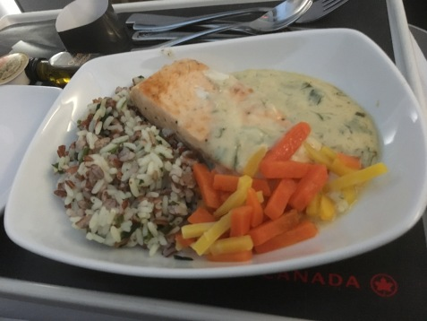 Atlantic Salmon in Clam Sauce