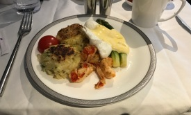 BTC - Poached Eggs with lobster