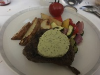 BTC grilled fillet of beef with Pesto