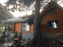 Lake Agnes tea house (there is really a tea house!)