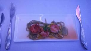 Shrimp on Soba