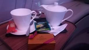 Godiva Chocolate with Green Tea