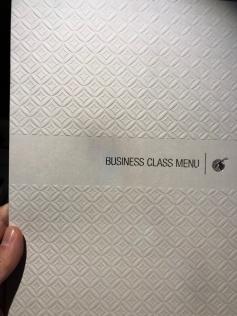 Very nice menu