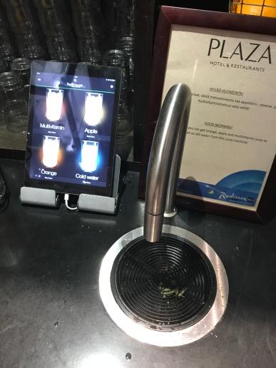 The magic tap!