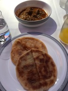 Prata ... notice that it looks more like thickened pancakes?