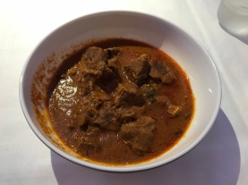 lamb curry - with lots of delicious lamb!