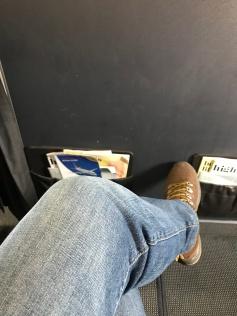fairly good leg space