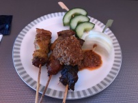 The satay looked (and tasted) better than my SQ308's