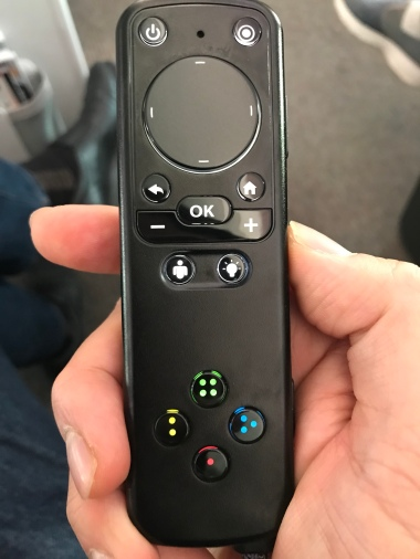 A much smaller and streamlined remote