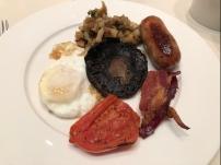English breakfast set