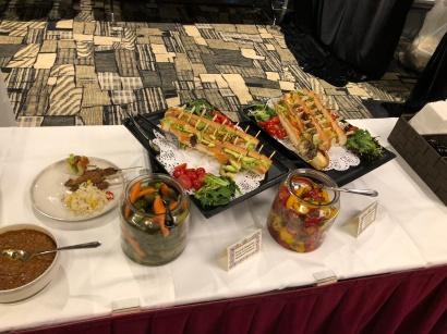 buffet spread 1
