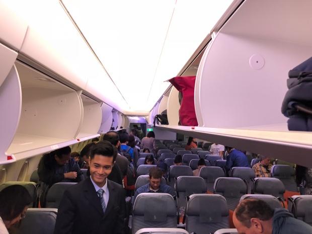 cabin boarding