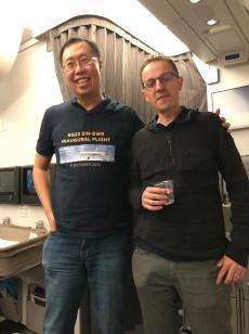With my friend Pier