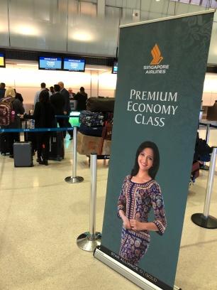 Premium Economy line