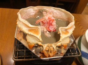 Crab paste in shell (raw)