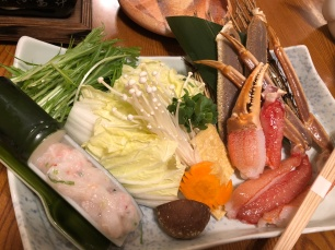 Ingredients for the hot pot