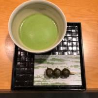 Matcha from Marukyu-Koyamaen