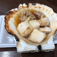 Grilled Scallop