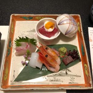 Sashimi of seafood set