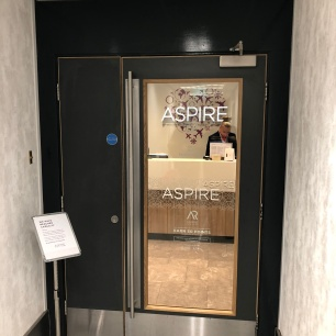 Aspire Lounge Entrance