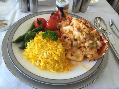 Lobster Thermidor 2015