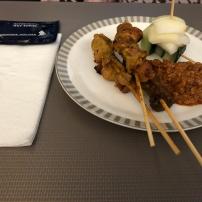 Lunch Satay