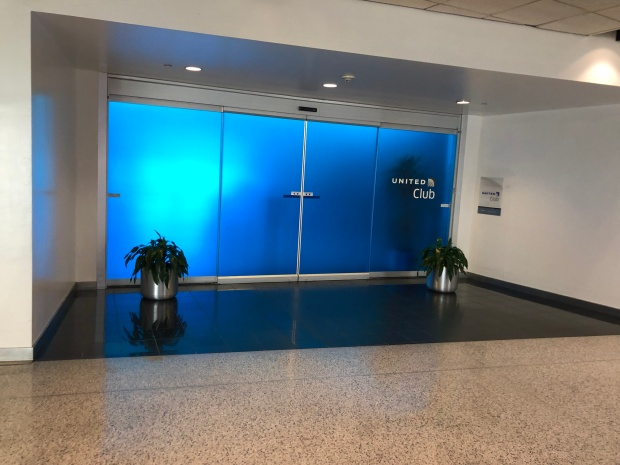 United Club Entrance